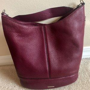 Rebecca Minkoff Burgundy leather hobo